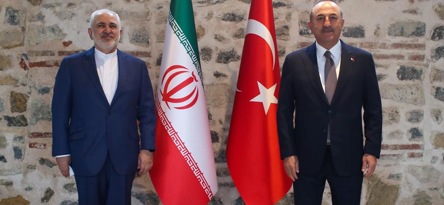 Çavuşoğlu, İranlı mevkidaşı Zarif'le bir araya geldi