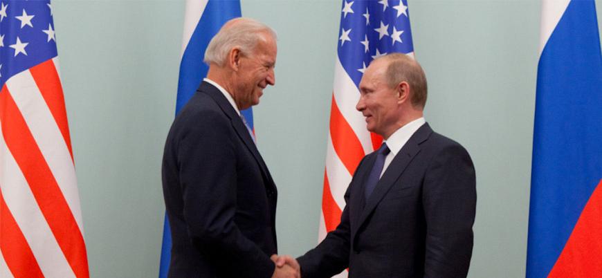 Putin'in teklifine Biden'dan cevap