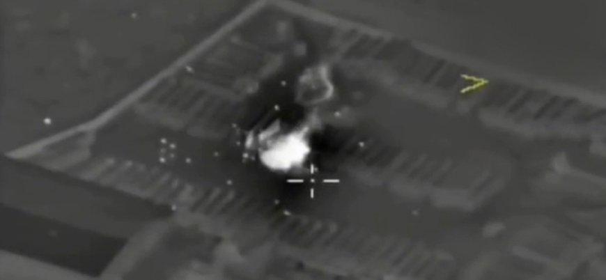 Rusya, Suriye'nin kuzeyinde düzelediği saldırıları görüntülerini yayınladı