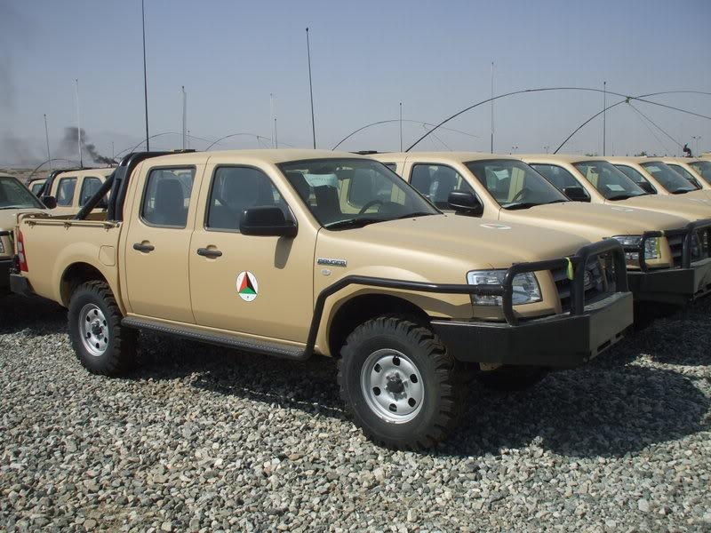 Afgan Ulusal Ordusu'na ait araçlar Irak'ta ne arıyor?