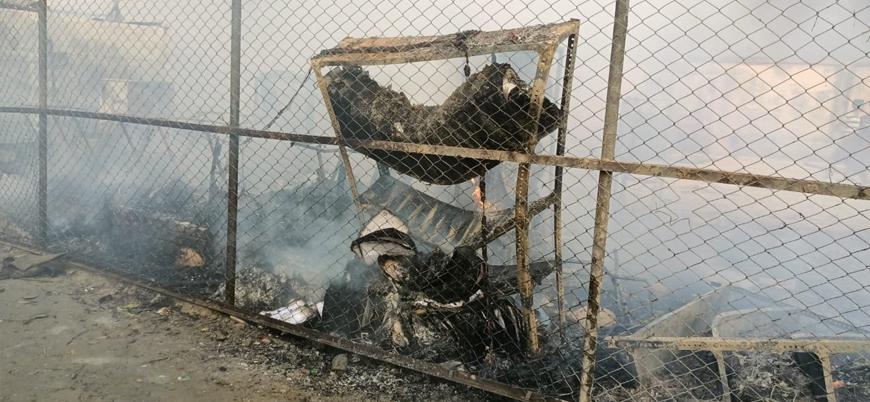 Bangladeş yönetiminin tel örgüleri nedeniyle Arakanlı Müslümanlar yanarak can verdi