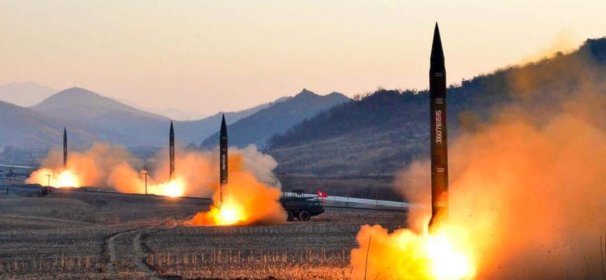 Kuzey Kore Japon Denizi'nde füze denemesi yaptı