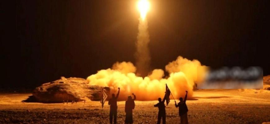 Husiler Suudi Arabistan'ı İHA ve balistik füzelerle hedef aldı