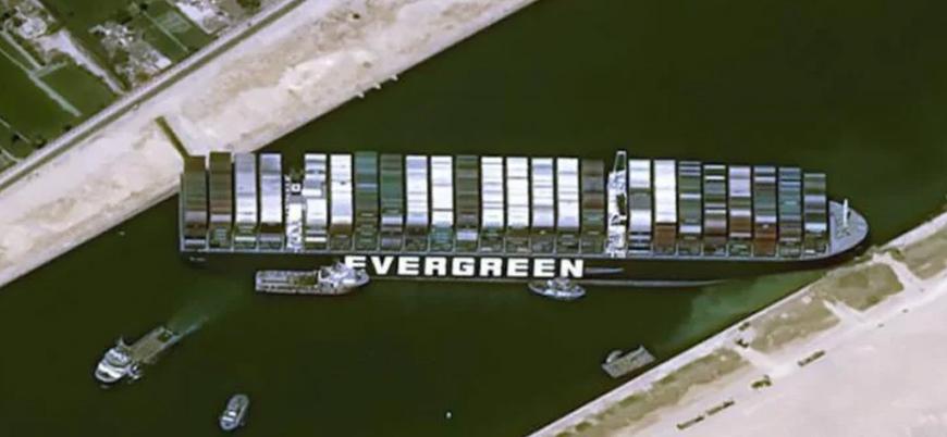 Süveyş Kanalı'nı kapanmasının haftalık zararı 10 milyar dolar