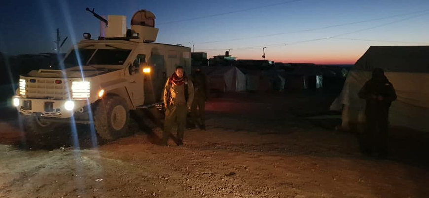YPG'den El Hol kampına operasyon