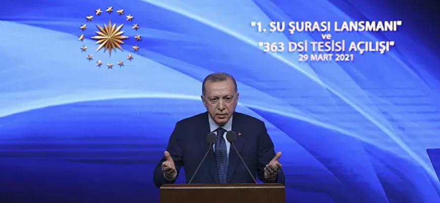 Erdoğan: Su stresi çeken bir ülkeyiz