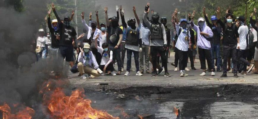 Myanmar'daki darbe karşıtı gösterilerde ölü sayısı 510'a yükseldi