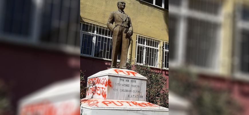 Bakan Soylu: Atatürk üzerinden provakasyon yapan  zanlı yakalandı