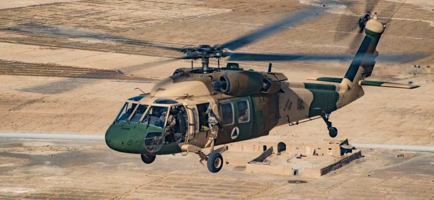Taliban Afganistan'da helikopter düşürdü