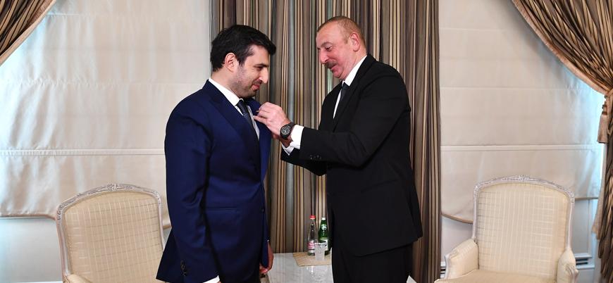 Aliyev'den Bayraktar'a 'Karabağ Nişanı'