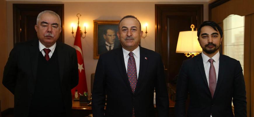 Afganistan barış süreci: Çavuşoğlu, Dostum ve Rabbani ile görüştü