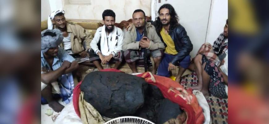 Yemenli balıkçılar buldukları balina kusmuğu ile zengin oldu