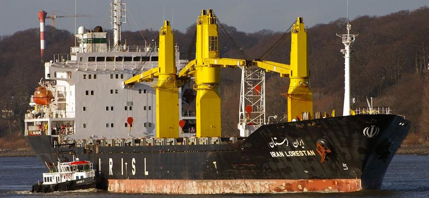 """""""İsrail Kızıldeniz'de İran'a ait gemiye saldırı düzenledi"""""""