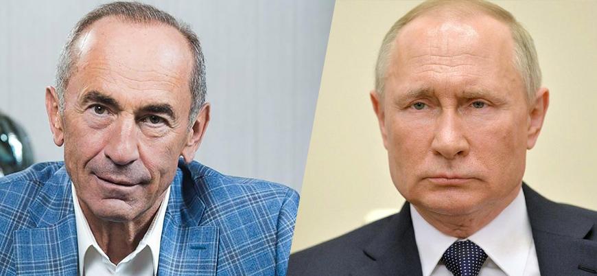Koçaryan: Putin müdahil olmasaydı Azerbaycan tüm Karabağ'ı alırdı