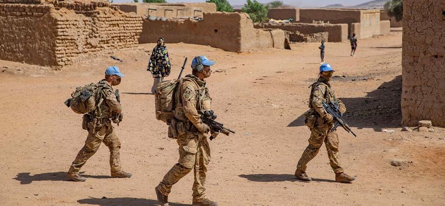 İngiliz askerleri Mali'de