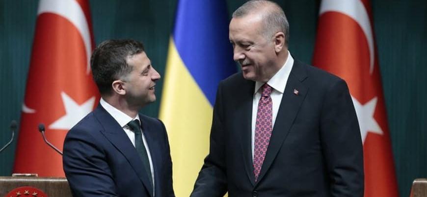 Ukrayna Devlet Başkanı Zelenskiy İstanbul'da Erdoğan ile bir araya geldi
