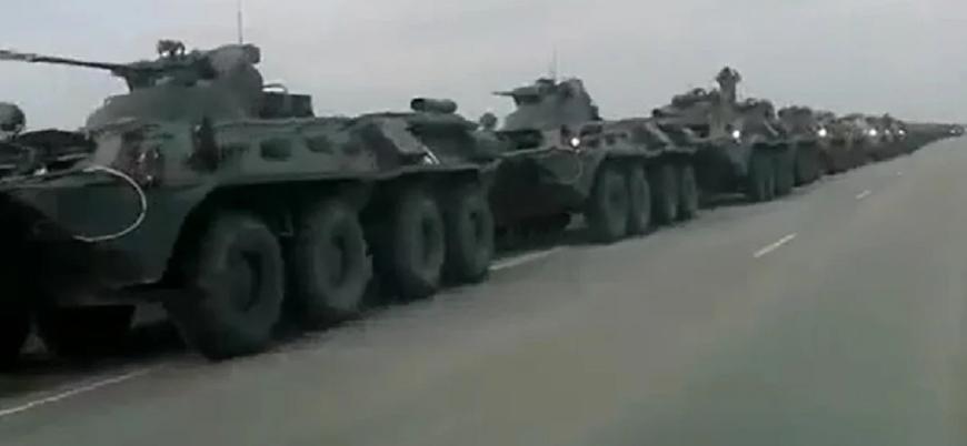 Rusya, Ukrayna sınırına yığdığı askerleri geri çekiyor