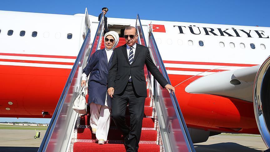 Cumhurbaşkanı Erdoğan'ın kritik ABD ziyareti başladı