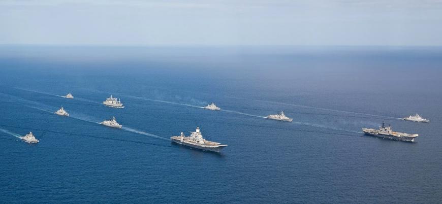 Rusya Karadeniz'e 15 savaş gemisi gönderdi