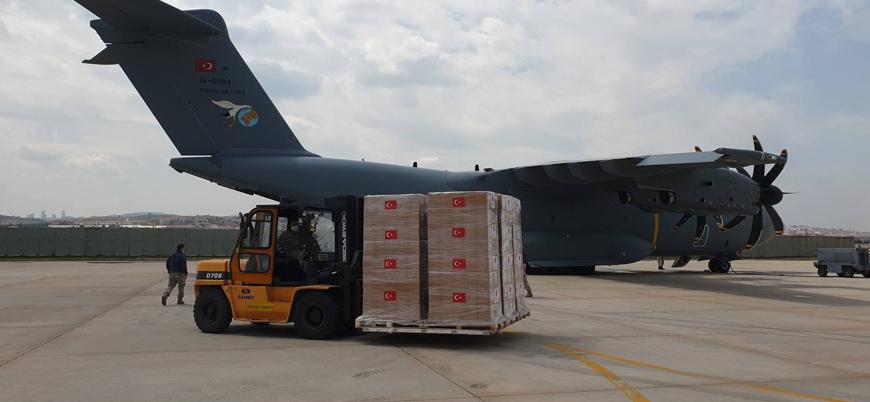 Türkiye'nin Libya'ya gönderdiği 150 bin doz aşı yola çıktı