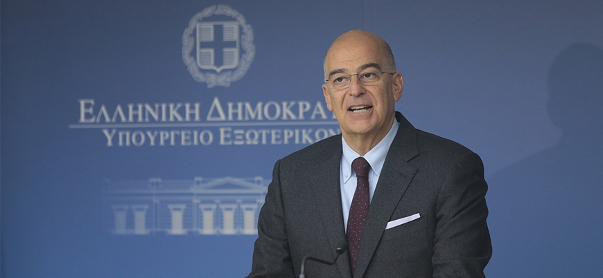 Yunanistan Dışişleri Bakanı Dendias Ankara'da