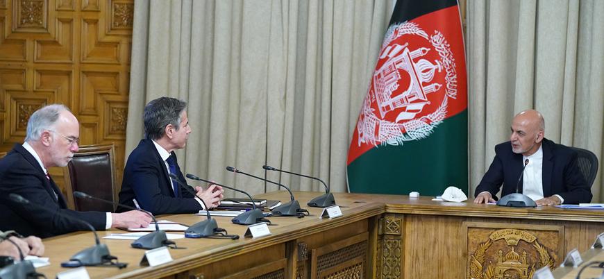 ABD Dışişleri Bakanı Blinken Afganistan'da