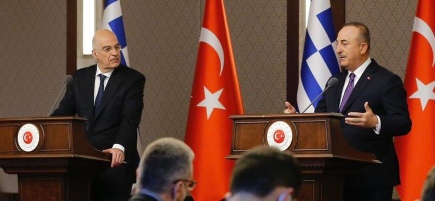 Çavuşoğlu ile Dendias'ın basın toplantısında ortam gerildi