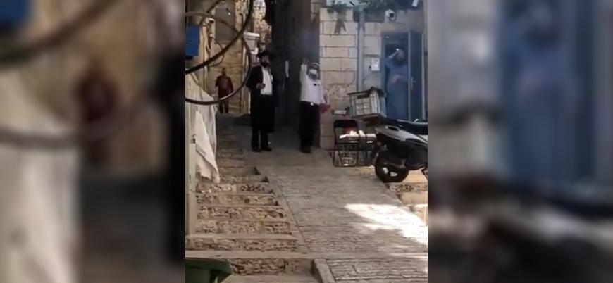 Filistin'de Ramazan: Yahudiler Kudüs'te sokak ortasında mangal yaptı