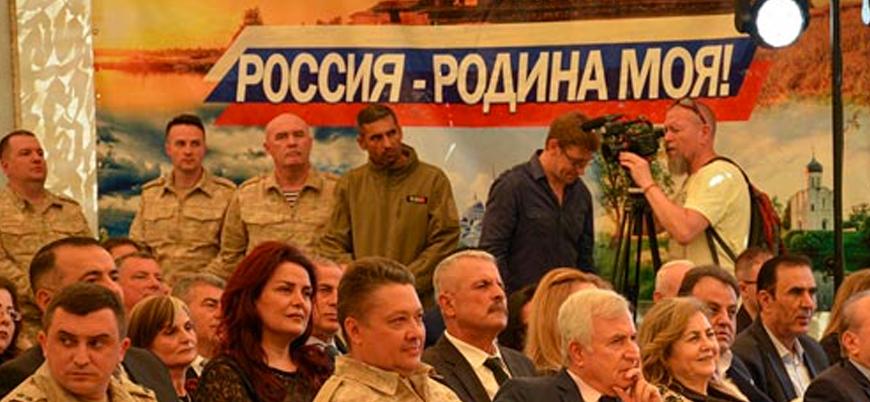 Esed rejimi Suriye'nin Fransa'dan bağımsızlığını Rus üssünde kutladı