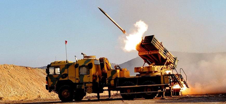 TSK, Ayn el Arab'daki YPG hedeflerini bombaladı