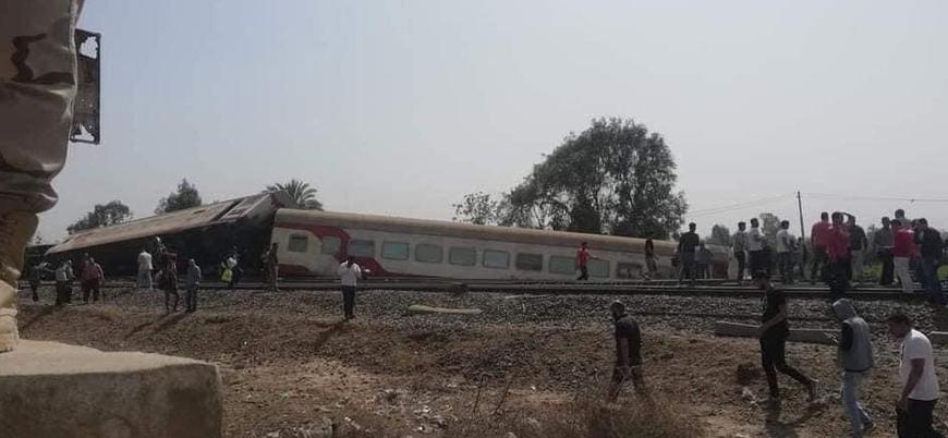 Mısır'da tren kazası: 8 ölü, 100'den fazla yaralı