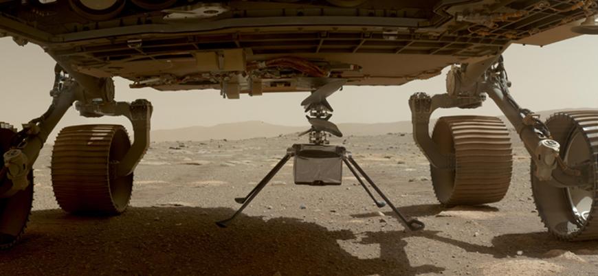 NASA Mars'taki helikopter uçuş denemesinin başarılı olduğunu duyurdu