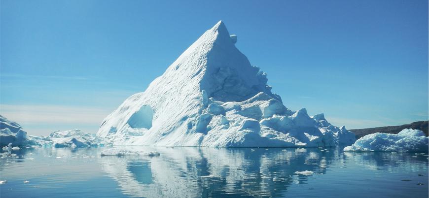 Dünyanın en büyük buzdağı eridi