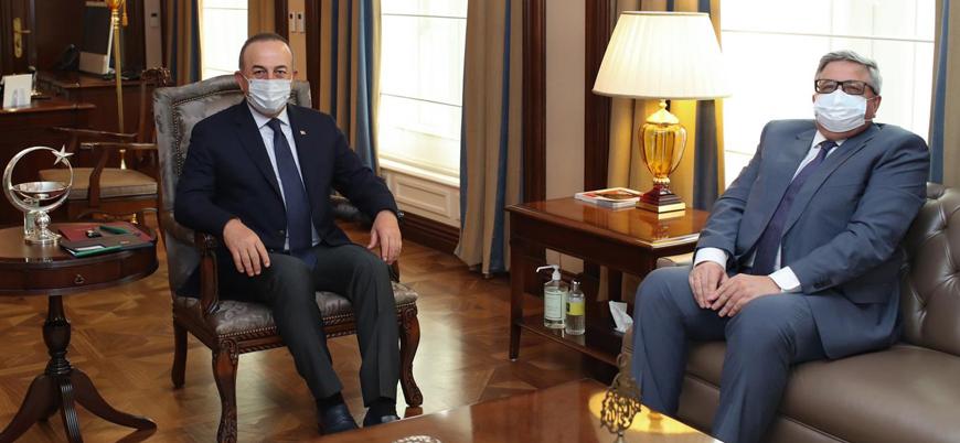 Çavuşoğlu, Rusya'nın Türkiye Büyükelçisi Yerhov ile görüştü