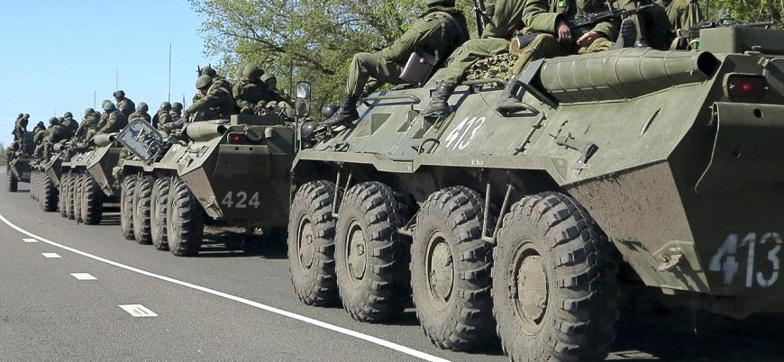 """""""Rusya, Ukrayna sınırına 150 bin asker yığdı"""""""