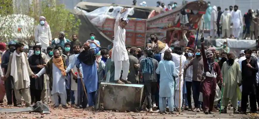 Pakistan'da gösteriler: Fransa Büyükelçisi'nin sınır dışı edilmesi değerlendiriliyor