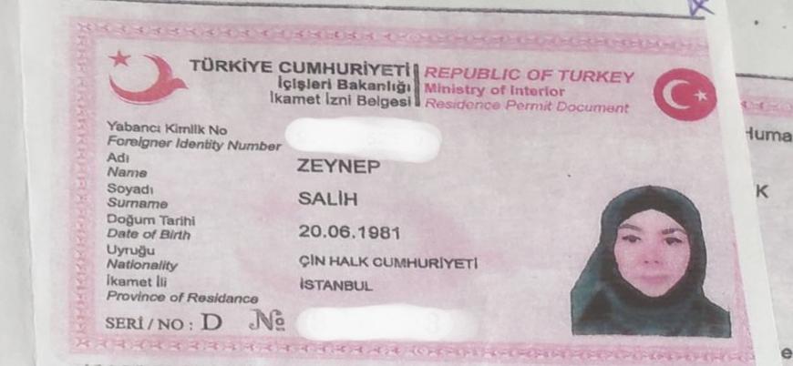 Doğu Türkistanlı sığınmacı Zeynep Salih'e gözaltı