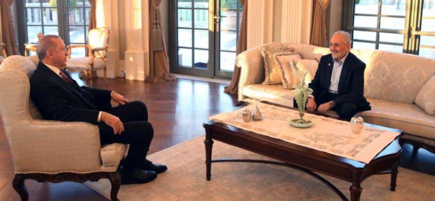 Erdoğan ve Asiltürk bir araya geldi