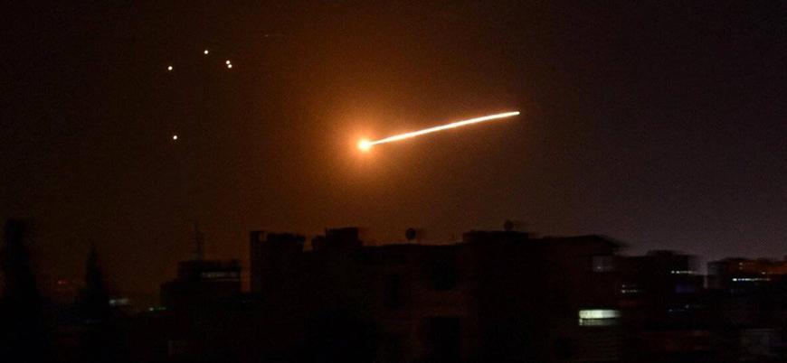 İsrail ile Suriye arasında füzeli saldırılar