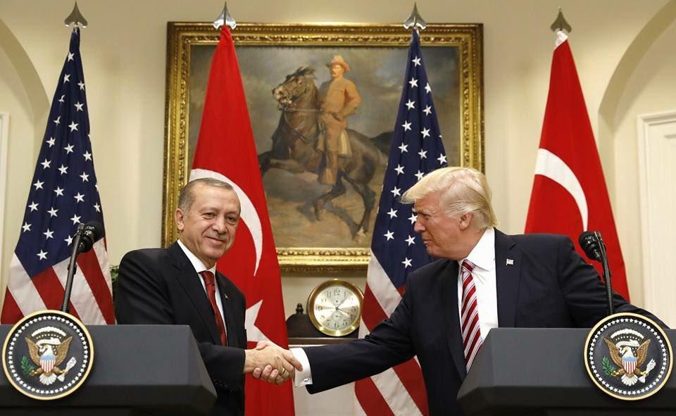 Erdoğan'dan Beyaz Saray'da YPG eleştirisi