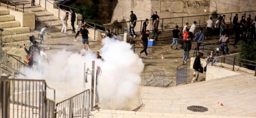 Kudüs'ün doğusundaki çatışmalarda 100'den fazla Filistinli yaralandı