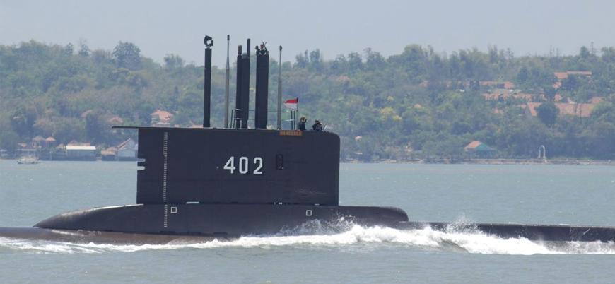 Endonezya'da batan askeri denizaltının yeri tespit edildi