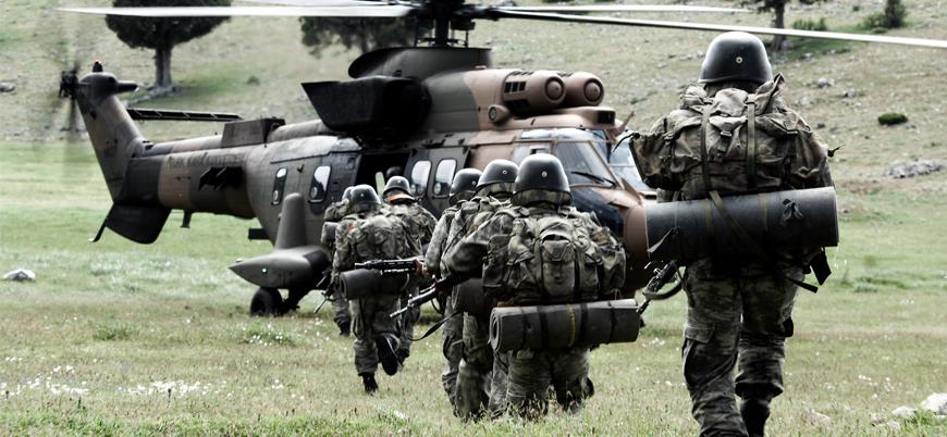 TSK'dan Irak'ın kuzeyindeki Metina'ya kara operasyonu