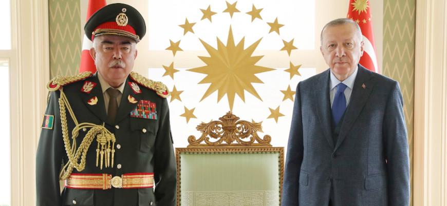 Cumhurbaşkanı Erdoğan Raşid Dostum ile görüştü