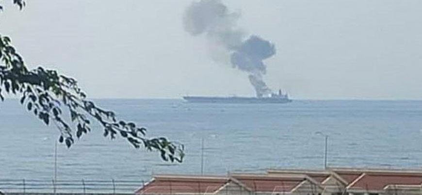 Suriye açıklarında İran'a ait petrol tankerine saldırı