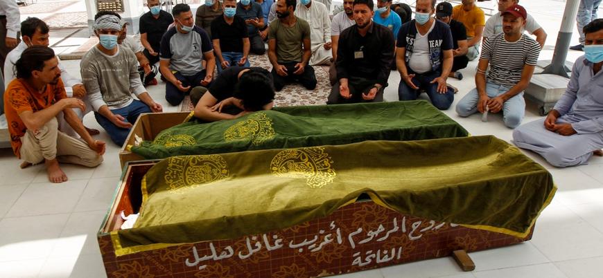 Irak'ta pandemi hastanesinde yangın: 82 ölü