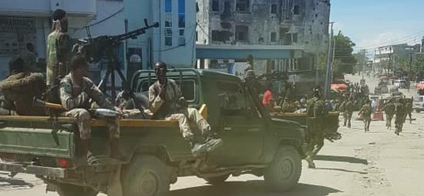 Somali'nin başkenti Mogadişu'da iç çatışmalar patlak verdi