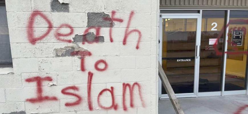 ABD'de camiye İslam karşıtı saldırı