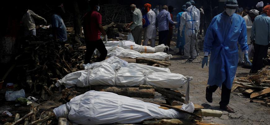 Hindistan'da koronavirüs ölümleri 200 bine dayandı