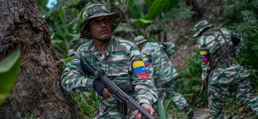 Kolombiya sınırında Venezuela ordusuna saldırı: 8 asker öldü